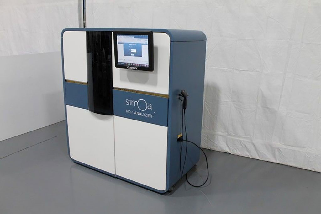 Image: The Simoa HD-1 Analyzer is a novel fully automated digital immunoassay analyzer with single-molecule sensitivity and multiplexing (Photo courtesy of Quanterix).