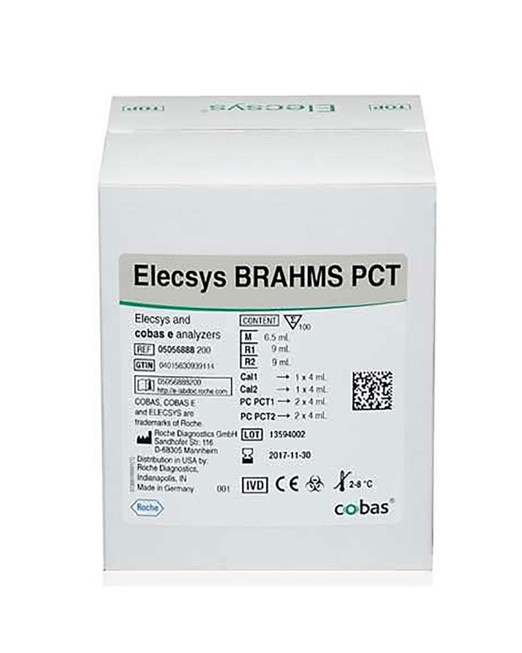Image: Elecsys BRAHMS PCT Assay measures procalcitonin in human serum (Photo courtesy of Roche Diagnostics).