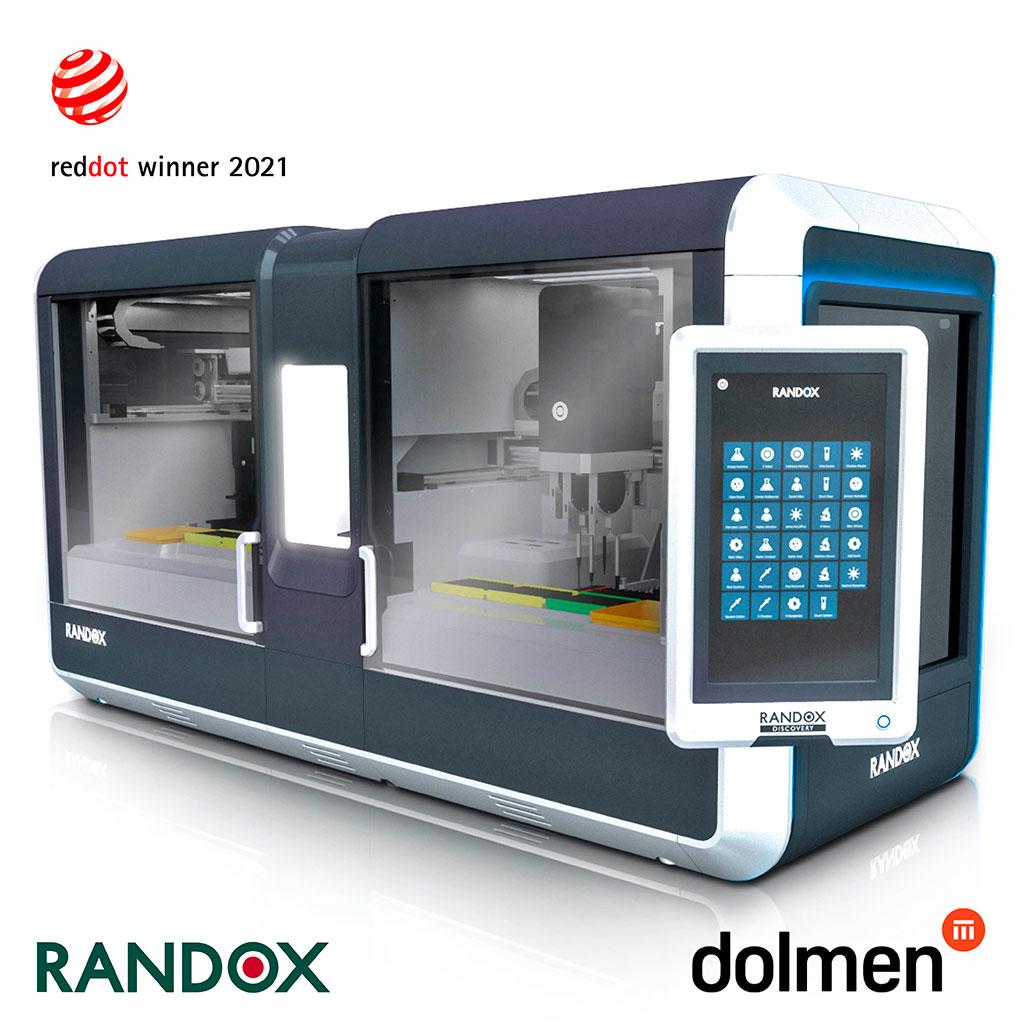 Image: Randox Discovery Diagnostic Analyzer Wins 2021 Red Dot Award for High Design Quality (Photo courtesy of Randox Laboratories)