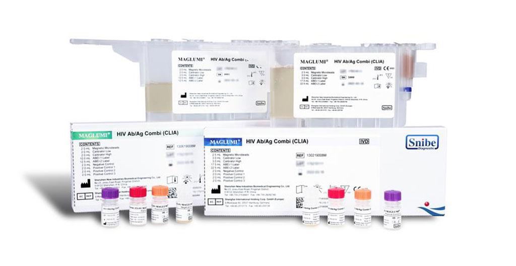 Image: Snibe Diagnostic's Maglumi HIV Ab/Ag Combi CLIA Assay (4th-Generation) Secures CE Mark (List A) (Photo courtesy of Snibe Diagnostic)