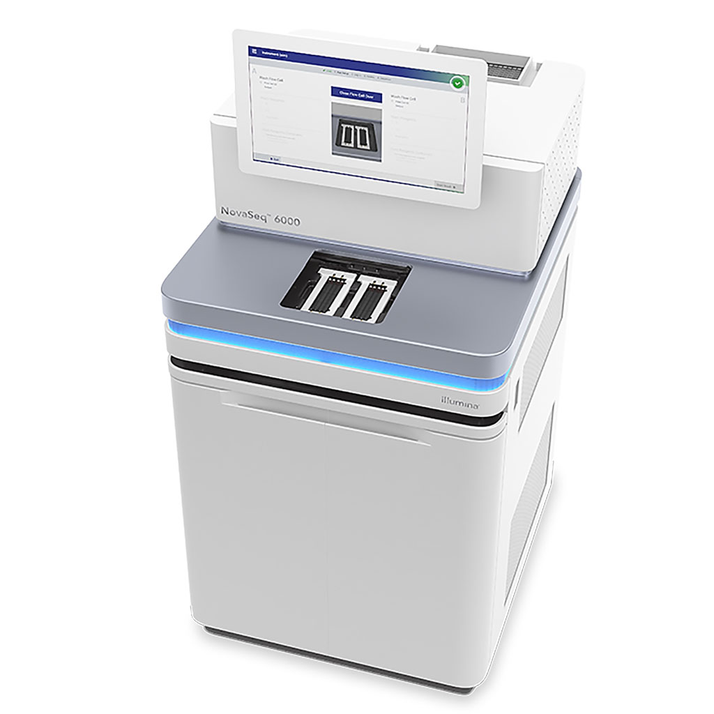 Image: The NovaSeq 6000 performs whole-genome sequencing (Photo courtesy of Illumina)