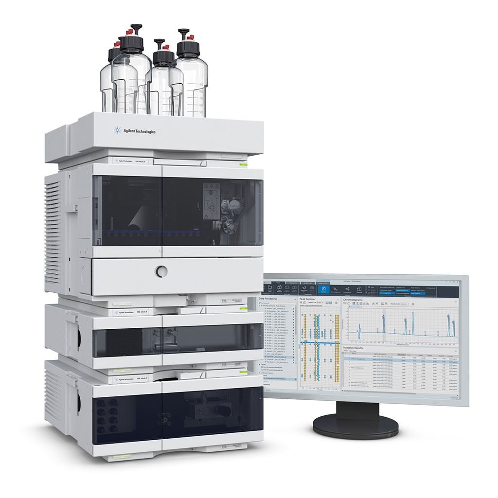 Image: The Agilent 1260 HPLC system (Photo courtesy of Agilent Technologies)