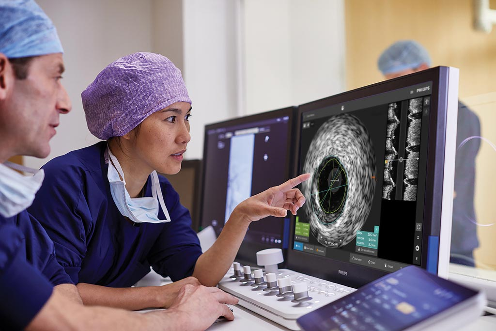 Image: The IntraSight platform combines iFR, FFR, IVUS and co-registration modalities to simplify complex interventions (Photo courtesy of Philips Healthcare).