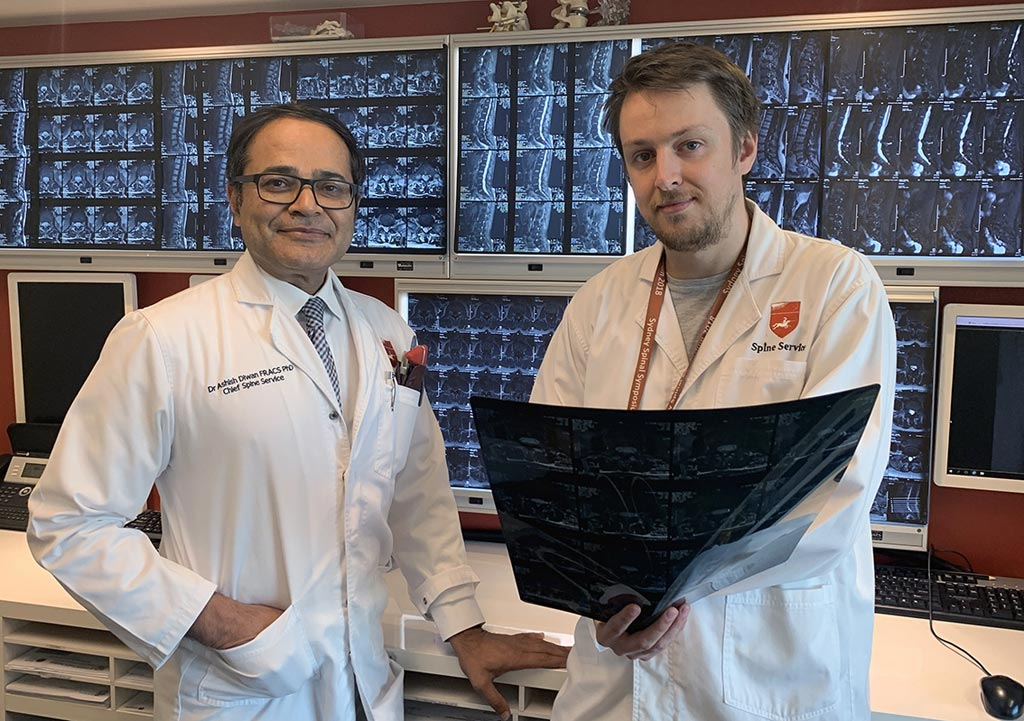 Image: Dr. Ashish Diwan (L) and Dr. Kyle Sheldrick (R) (Photo courtesy of UNSW).