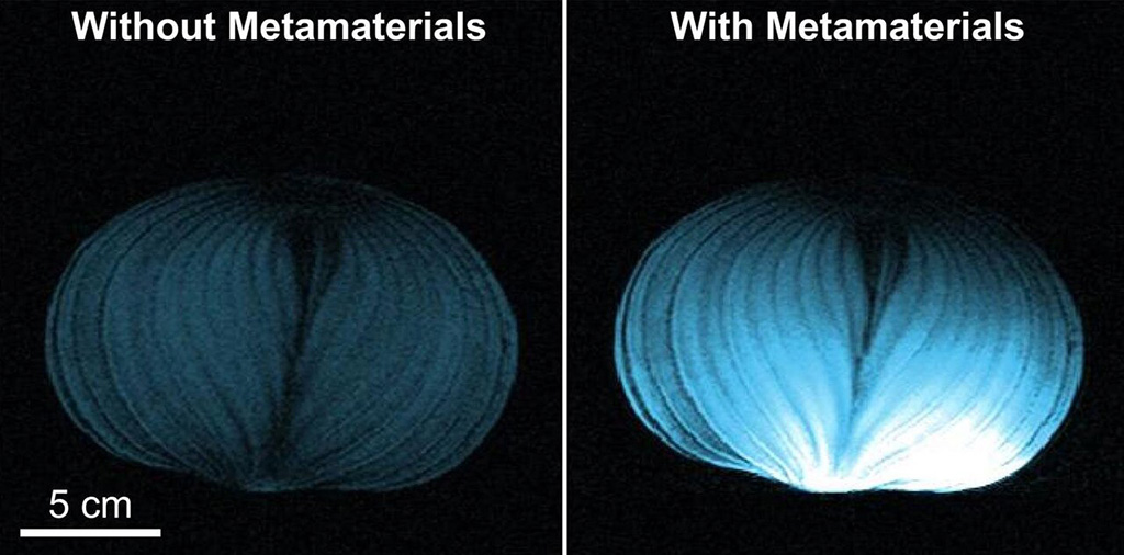 Image: Intelligent metamaterials Enhance MRI images (Photo courtesy of BU)