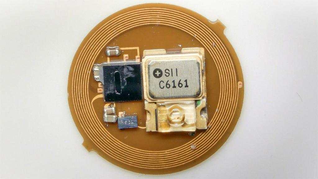 Image: A prototype autonomous EMR dosimeter (Photo courtesy of NU)