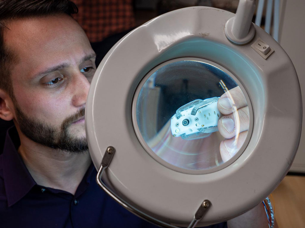 Image: The Endoculus RCE colon explorer (Photo courtesy of UC Boulder)