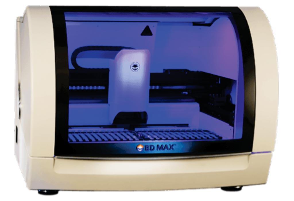 Система BD MAX - это полностью автоматизированная платформа, которая дает возможность консолидировать и стандартизировать широкий спектр молекулярных тестов, включая энтеральную панель BD Max (фото любезно предоставлено Becton Dickinson).