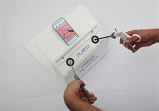 Тренажер для лапароскопических операций
