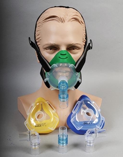 Носо-ротовые кислородные маски