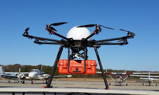 Улучшенный беспилотный летательный аппарат скорой помощи может помочь в лечении пострадавших в чрезвычайных ситуациях (фото любезно предоставлено WCUCOM).