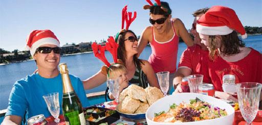 Люди празднуют Рождество в Новой Зеландии (фото предоставлено Getty Images).