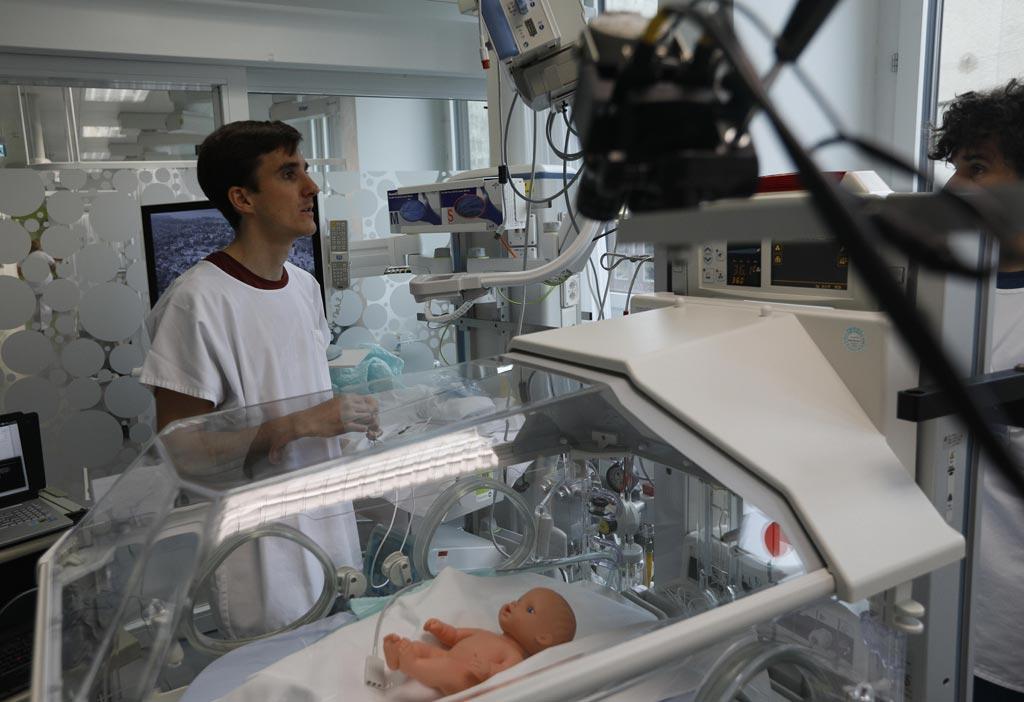 Для мониторинга недоношенных младенцев скоро будут использоваться видеокамеры (фото любезно предоставлено EPFL).