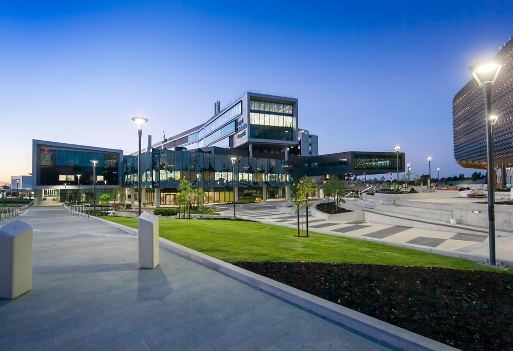 Новая Королевская больница Аделаиды (фото любезно предоставлено Silver Thomas Hanley).