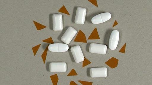 Диоксид титана - белый пигмент, все чаще используемый как пищевая добавка (фото любезно предоставлено UZH).
