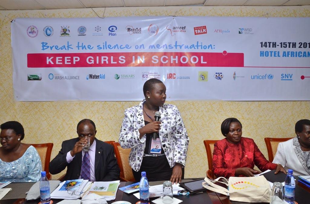 Уганда приняла первую в Африке региональную конференцию, посвященную гигиене при менструациях (фото любезно предоставлено Джеймсом Кийимбой (James Kiyimba)).