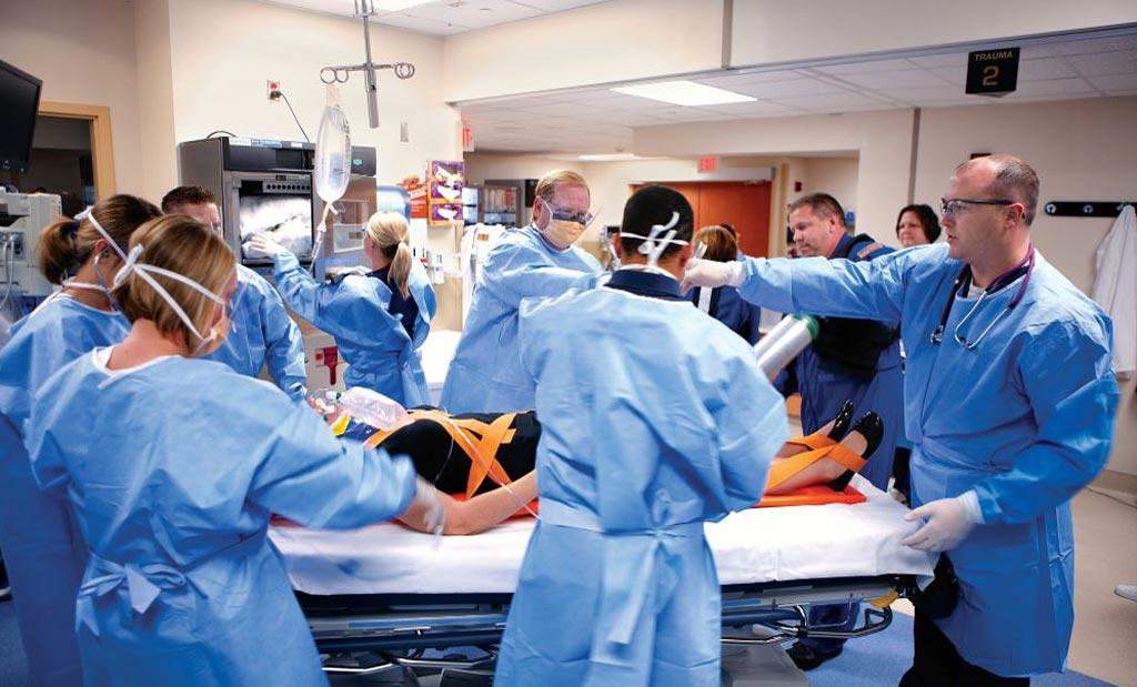 Новое исследование показывает, что около 50% медицинской помощи в США оказывается в отделениях неотложной помощи (фото любезно предоставлено Shutterstock).