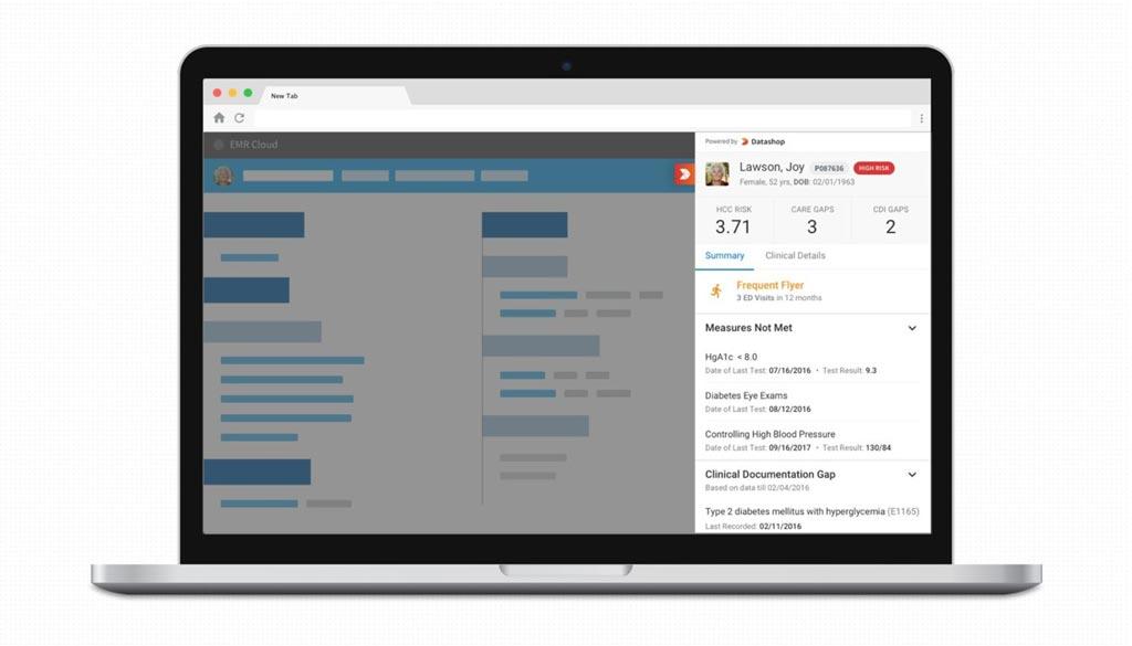 Инновационная портативная платформа оповещения сигнализирует о необходимости оказания услуг по уходу в рамках электронных медицинских карт (фото любезно предоставлено Innovaccer).