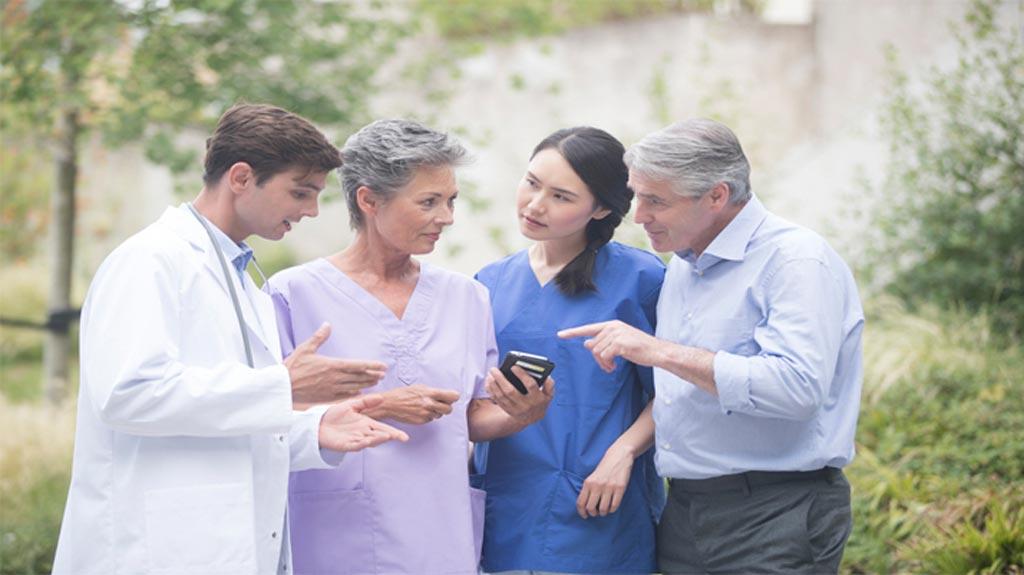 Новая платформа для вовлечения в лечение предназначена для улучшения  непрерывного ухода за пациентами (фото любезно предоставлено Agfa Healthcare).