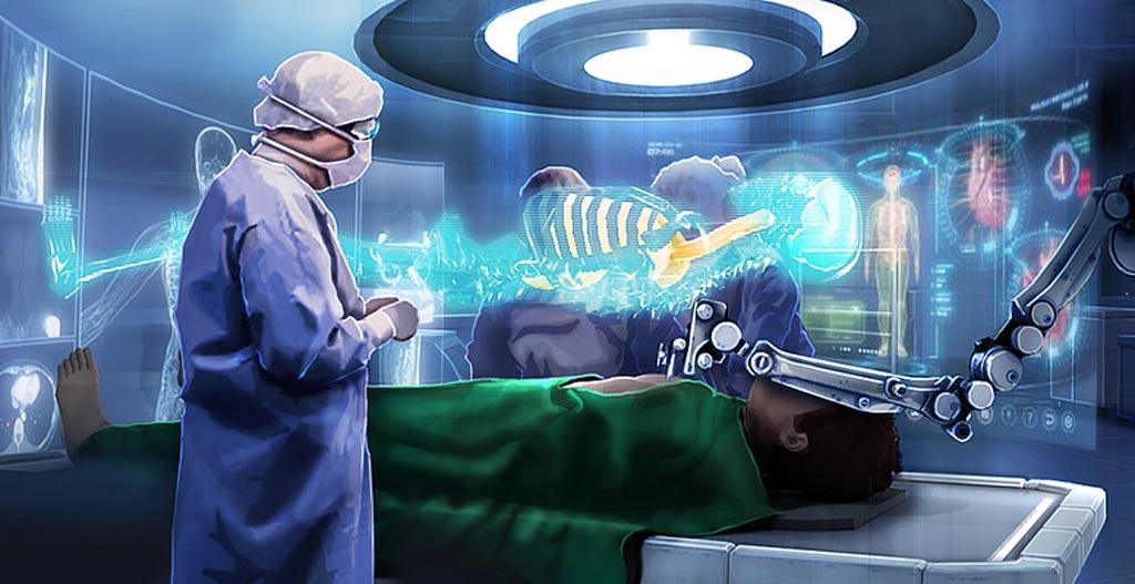 Технология дополненной реальности вскоре может помочь отобразить проекцию человеческого тела в режиме реального времени (фото любезно предоставлено UT).