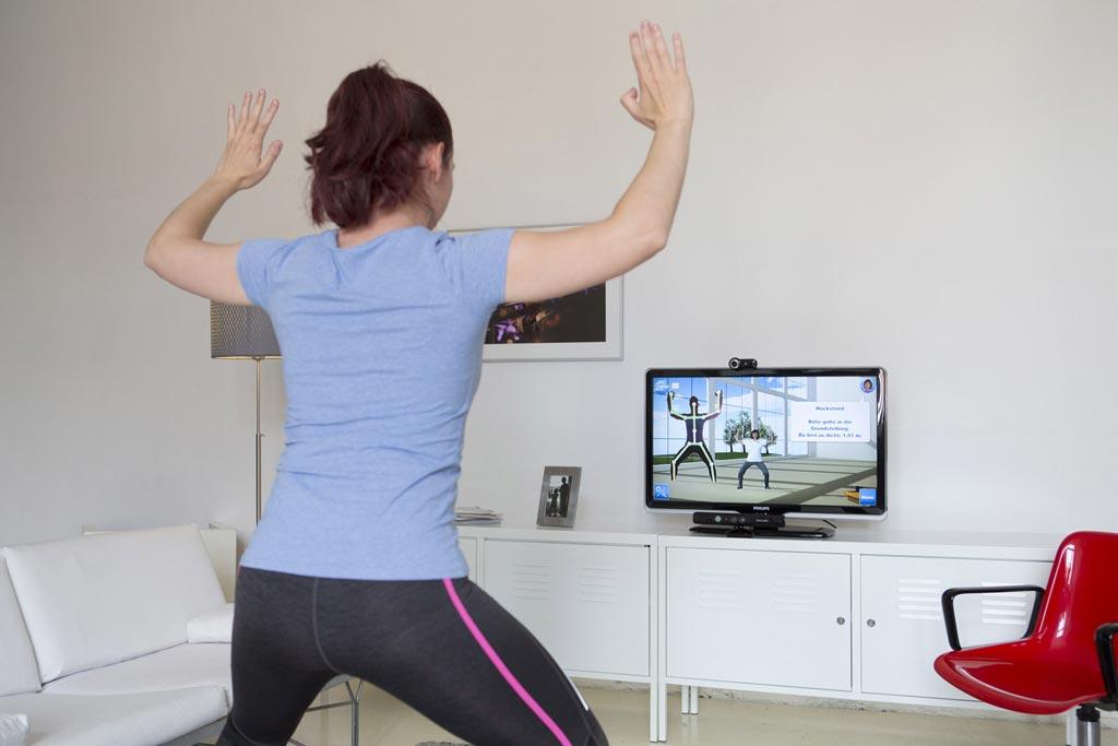 Исследования показывают, что уход за пациентами может быть улучшен путем мониторинга физической реабилитации в режиме реального времени (фото предоставлено Институтом открытых коммуникационных систем им. Фраунгофера).