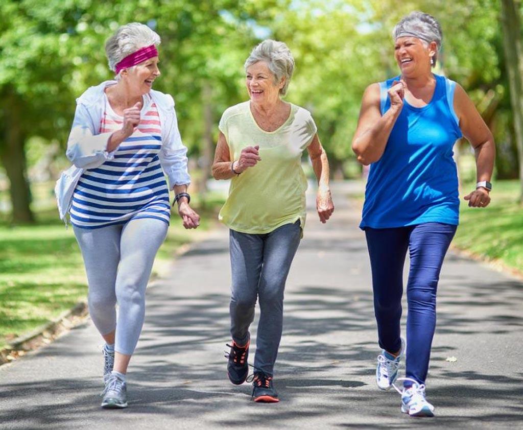 Новое исследование утверждает, что физическая активность может помочь женщинам преодолеть переход к менопаузе (фото любезно предоставлено Getty Images).