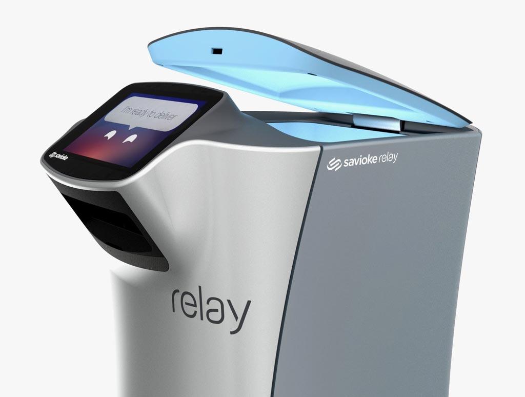Автономный сервисный робот Relay сможет сыграть роль в повышении эффективности больниц (фото любезно предоставлено Savioke).