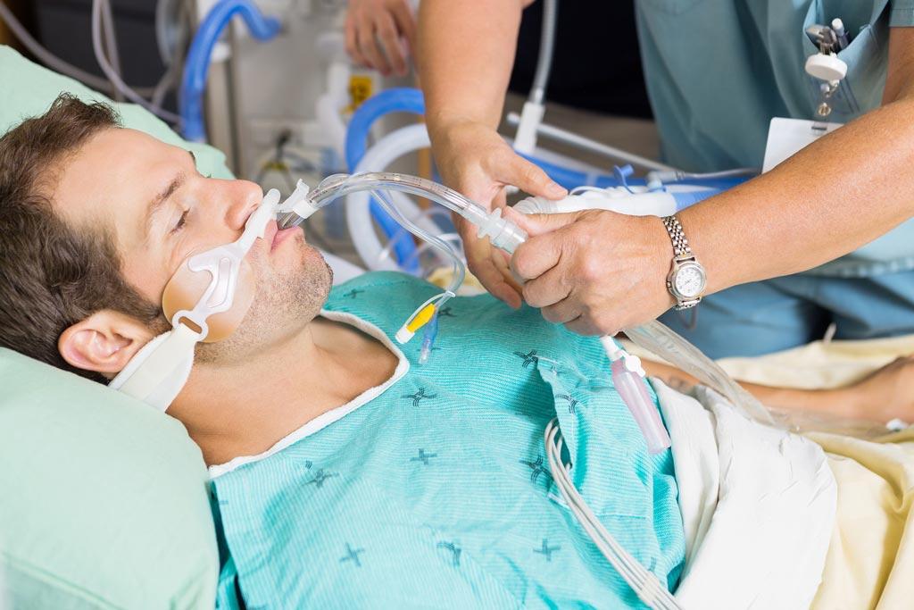 Новое исследование утверждает, что процедуры дезинфекции неэффективны для пациентов, находящихся на искусственной вентиляции легких в ОИТ (фото предоставлено Bigstock).