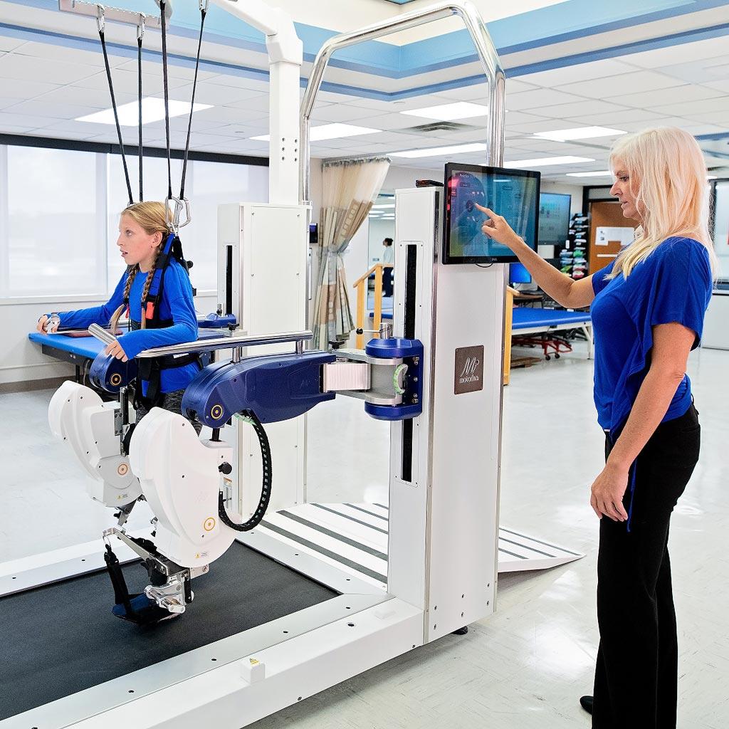 Персонализированная платформа для реабилитации походки Optimal-G Pro (фото любезно предоставлено компанией Motorika).