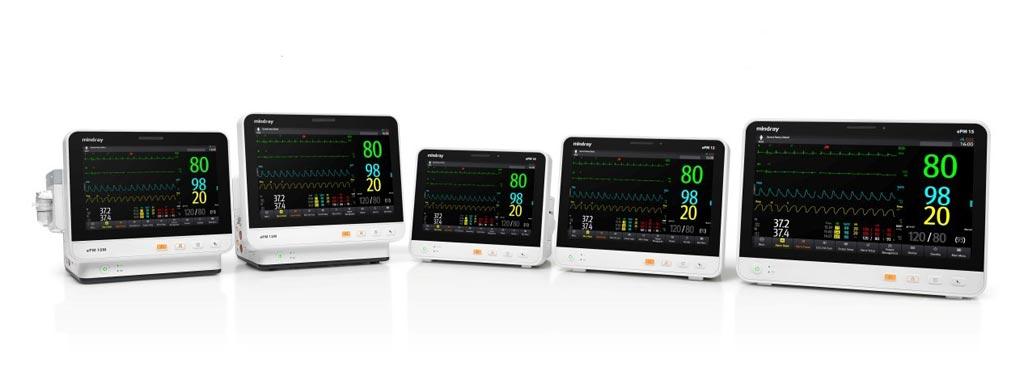 ePM Линейка мониторов для пациентов с состоянием средней степени тяжести (фото любезно предоставлено Mindray).