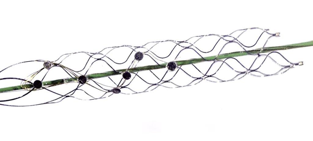 Система имплантируемых электродов системы Stentrode (фото любезно предоставлено Synchron).