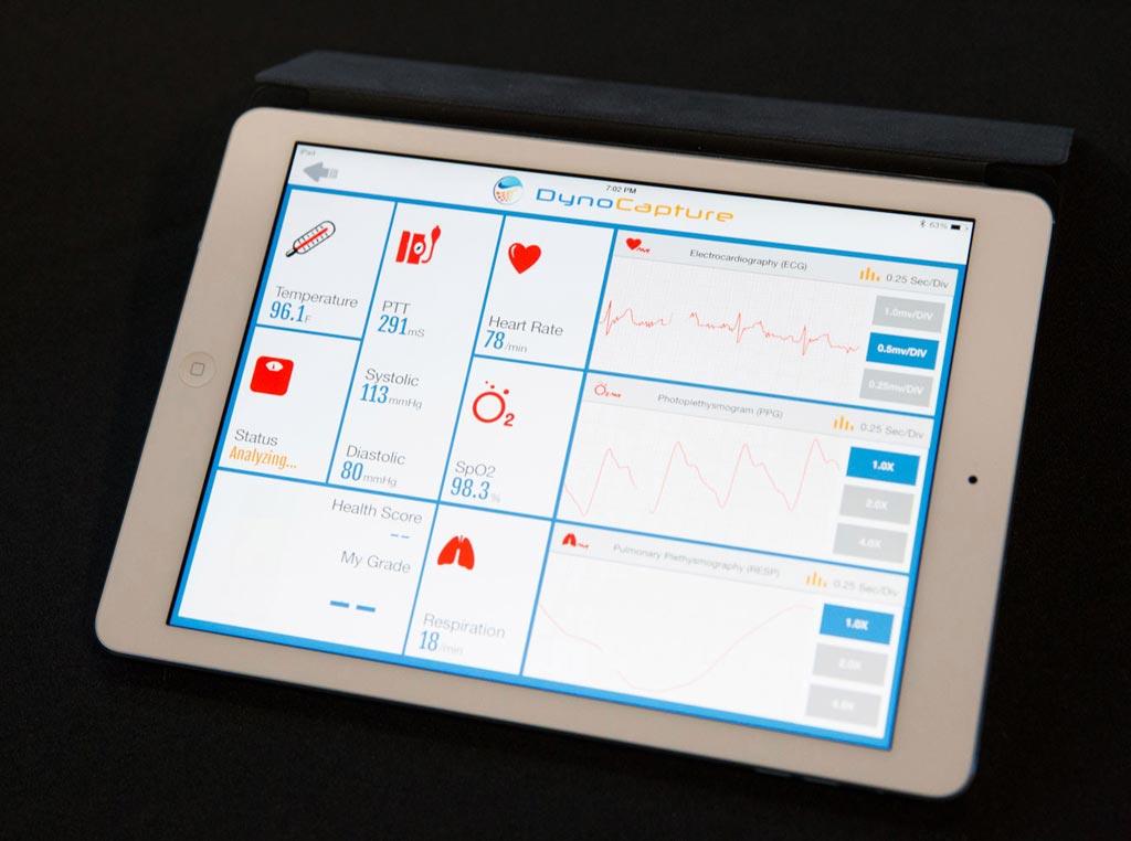 Панель инструментов DynoCapture в режиме онлайн отображает показатели здоровья (фото любезно предоставлено DynoSense).