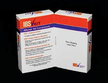 Комплект IBSchek для выполнения анализа крови для диагностики синдрома раздраженной толстой кишки (фото любезно предоставлено Commonwealth Laboratories Inc.).