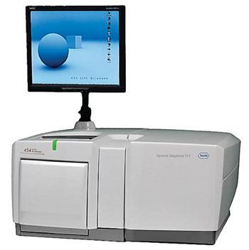 Прибор Genome Sequencer FLX (фото любезно предоставлено 454 Life Sciences-Roche).