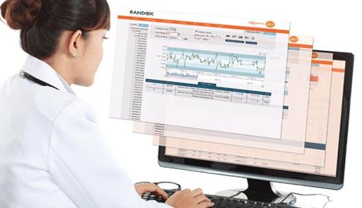 Acusera 24•7 Live Online сможет стать ценным инструментом контроля качества для лабораторий любых размеров (фото любезно предоставлено Randox Laboratories).