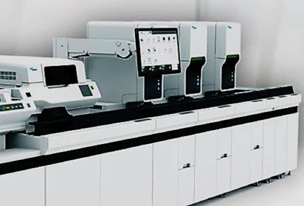 Автоматизированный гематологический анализатор Sysmex XN-9000 (фото любезно предоставлено компанией Sysmex).