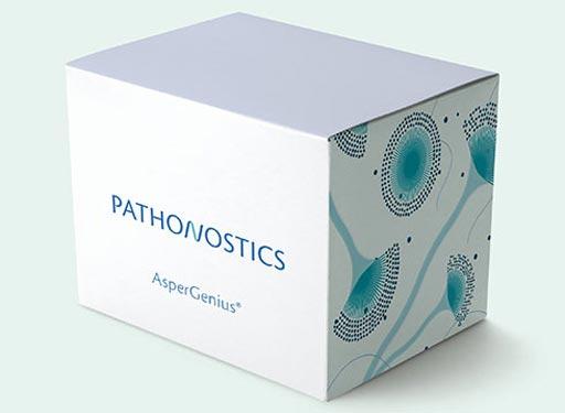 AsperGenius представляет собой мультиплексный анализ ПЦР в реальном времени, который быстро диагностирует инфекции, вызываемые аспергиллами, и одновременно идентифицирует устойчивость к мульти-азольным (multi-azole) соединениям (фото любезно предоставлено PathoNostics).
