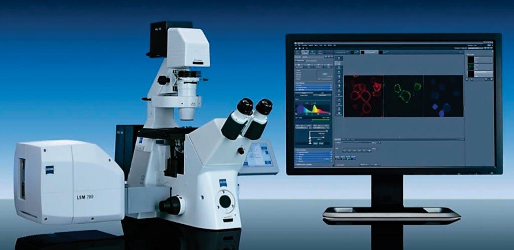 Лазерный сканирующий микроскоп LSM 700 (фото любезно предоставлено Zeiss).