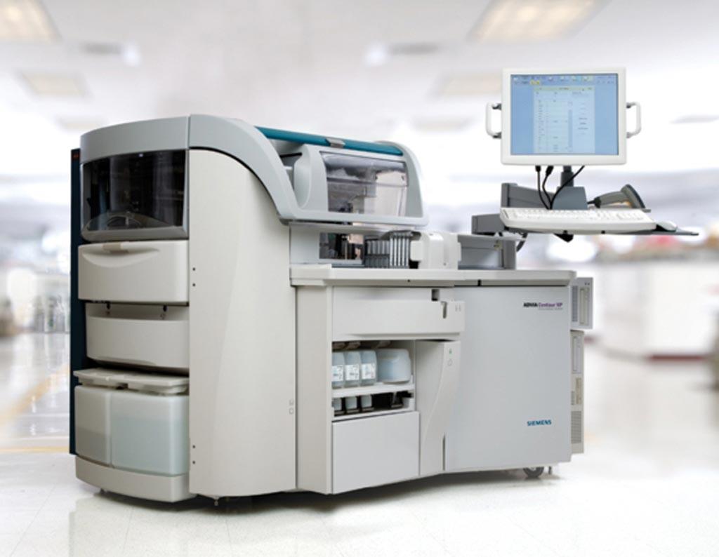 Иммунохимический анализатор Advia Centaur XP (фото предоставлено компанией Siemens Healthcare).