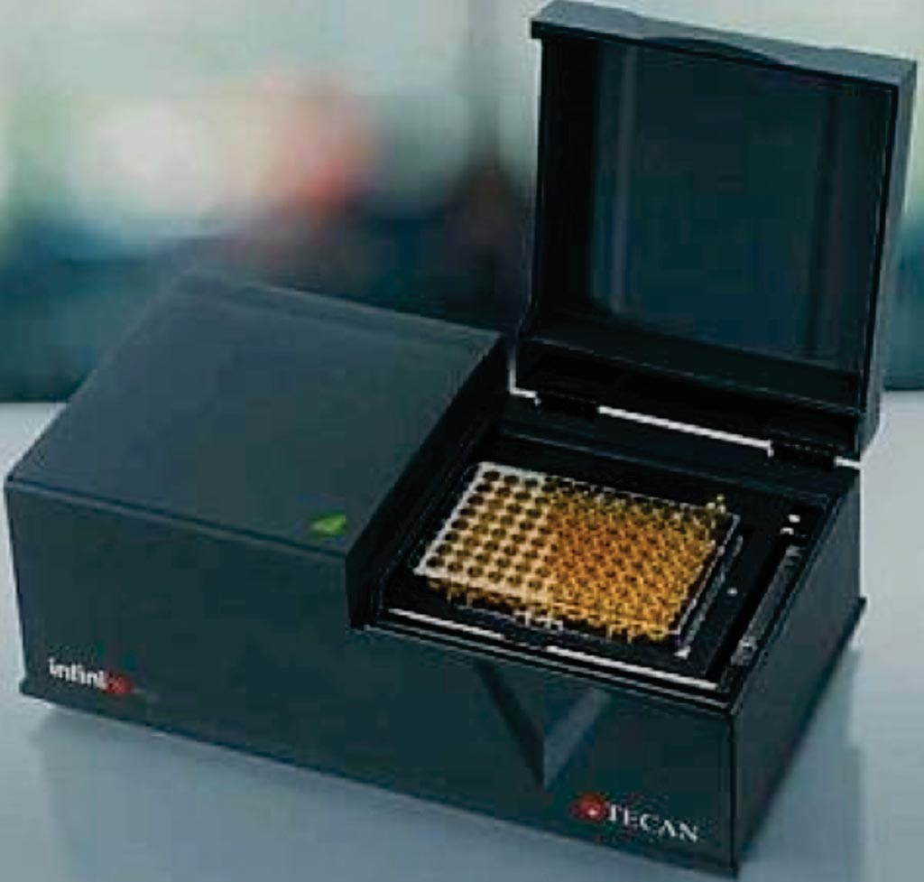 Микропланшетный ридер infinite F50 (фото любезно предоставлено Tecan).