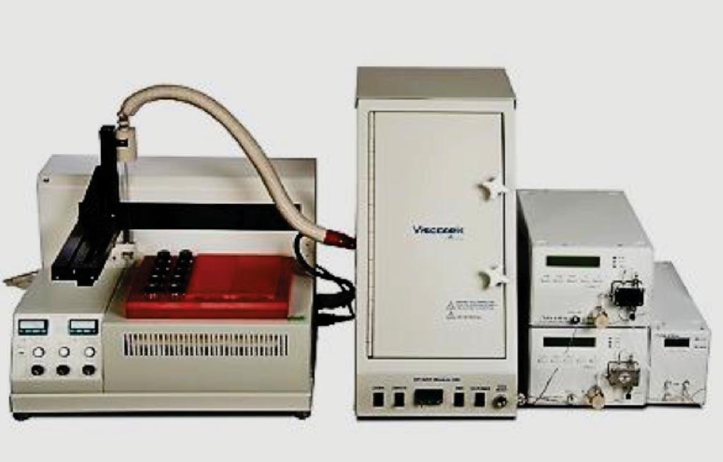 Высокотемпературная система для гель-проникающей хроматографии Viscotek  (фото предоставлено Malvern Instruments).