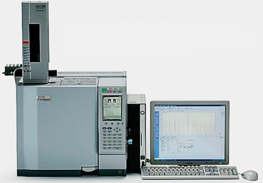 Газовый хроматограф GC-2010, используемый для расчета индекса Omega-3 (Omega-3 Index). Фото любезно предоставлено Shimadzu.