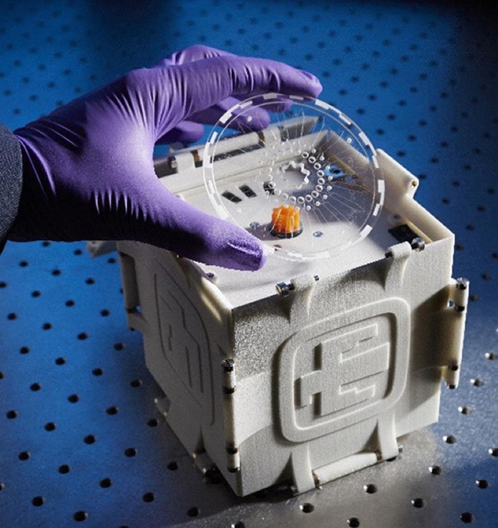 Система SpinDx (фото любезно предоставлено Sandia National Laboratories).