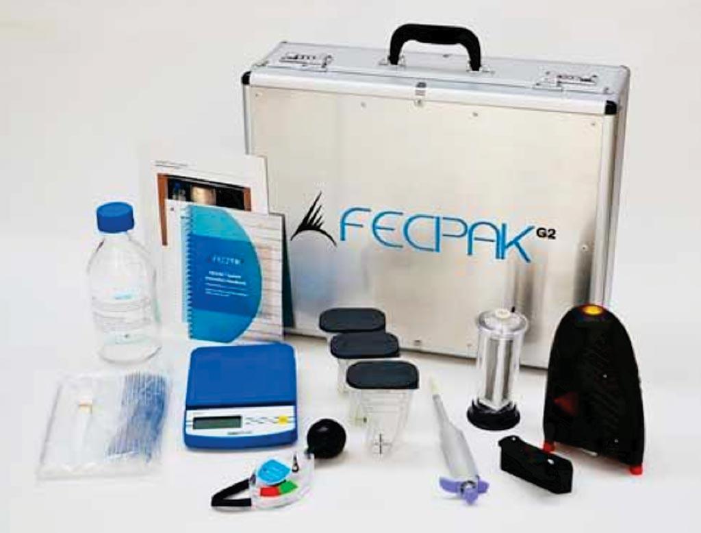 FECPAKG2 модернизирует традиционный метод исследования паразитов с помощью микроскопа, заменяя его подключенным к Интернету комплектом на основе изображений (фото любезно предоставлено Techion).
