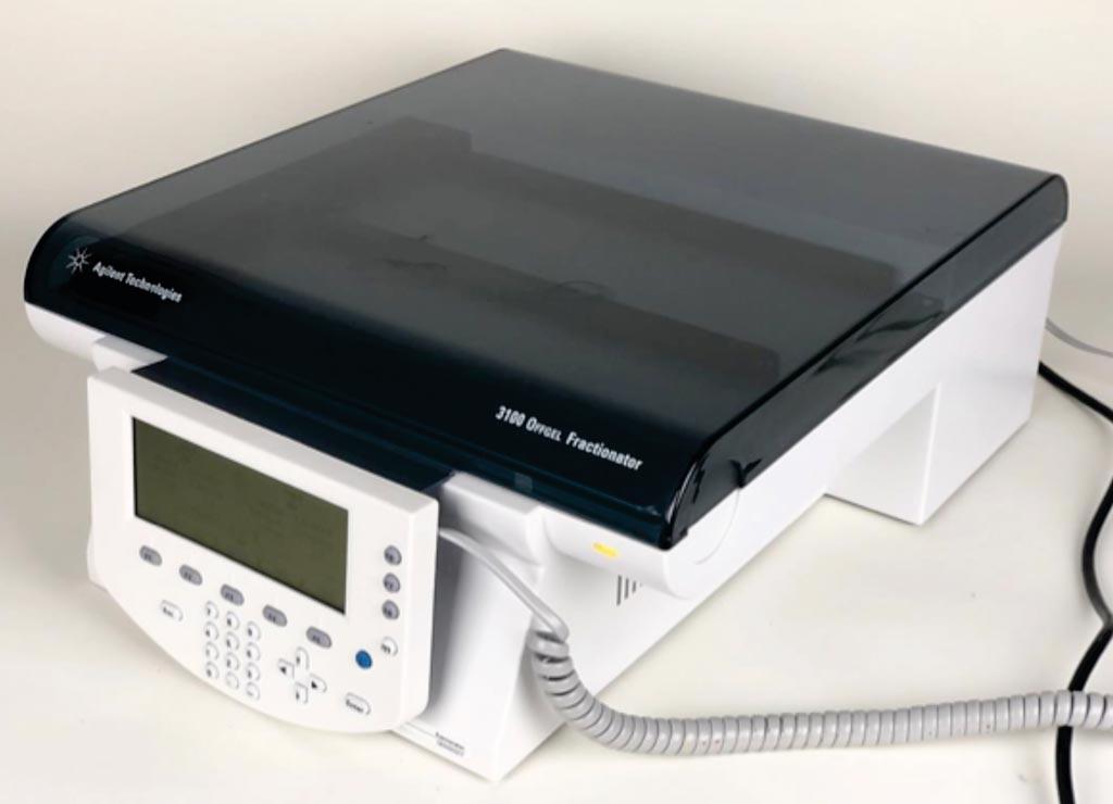 Аппарат для фракционирования OFFGEL 3100 (фото любезно предоставлено Agilent Technologies).